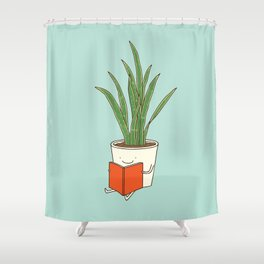indoor plants Shower Curtain