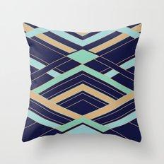 Art Deco Fast Throw Pillow