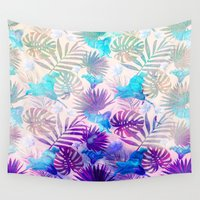 tropical Wall Tapestries featuring TROPICAL  by sametsevincer