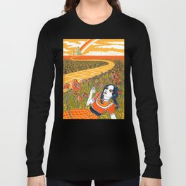 Dorothy in the Poppy Field Long Sleeve T-shirt