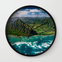 Jurassic Park Panoramic Wall Clock