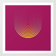 U like U Art Print