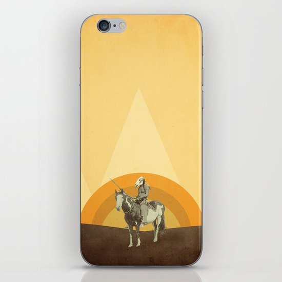 Dirty Feathers iPhone & iPod Skin