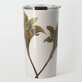 Indian Lily Daffodil Travel Mug
