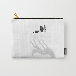 Wild At Heart - Pied French Bulldog Carry-All Pouch