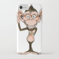 ape iPhone & iPod Cases featuring APE by Fernee