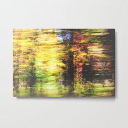 speed of fall Metal Print