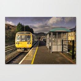 Treherbert Station  Canvas Print