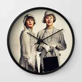 Tony Curtis and Jack Lemmon Wall Clock