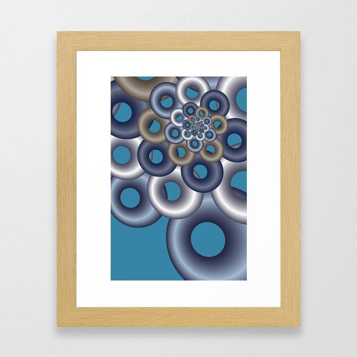 fractals are beautiful -11- Framed Art Print