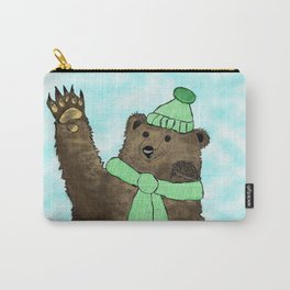Mr. Brown and Mr. Prickles  Carry-All Pouch