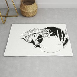 Skull (Creeping Hands) Rug