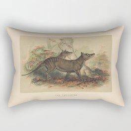 The Thylacine Rectangular Pillow