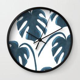 Moderna Monstera V.3 Wall Clock