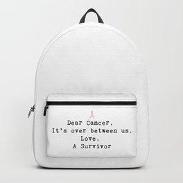Dear Cancer (Black Type) Backpack