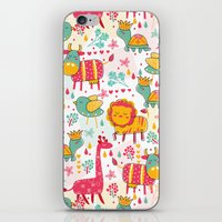 wildlife iPhone & iPod Skins featuring Wildlife by One April