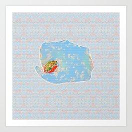The Arum Frog Art Print