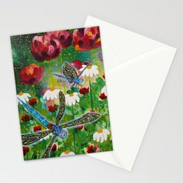 Dusk In The Garden Stationery Cards