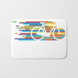 Colorful bicycle 1 Bath Mat