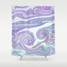 PURPLE MIX Shower Curtain