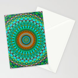 Geometric Mandala G388 Stationery Cards