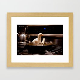 Fried Eggs Framed Art Print