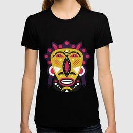 African Kuba Face Mask T-shirt
