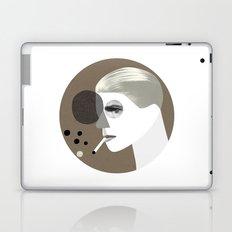 White duke (round version) Laptop & iPad Skin