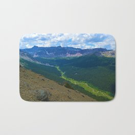 Views along the Bald Hills Hike in the Maligne Valley of Jasper National Park, Canada Bath Mat