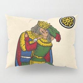 The Kiss (Neapolitan cards) Pillow Sham