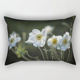 Graceful Anemones, No. 2 Rectangular Pillow