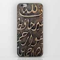 arabic iPhone & iPod Skins featuring Arabic - Quran by Brian Raggatt