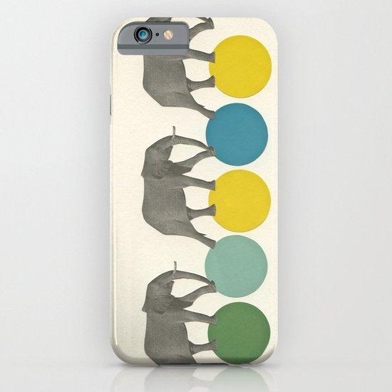 Travelling Elephants iPhone & iPod Case