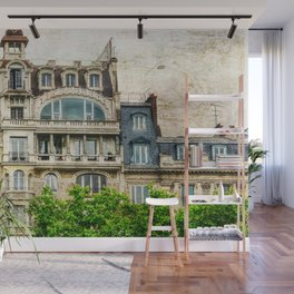 Paris Architecture Wall Mural