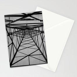 electricity pylon #2 Stationery Cards