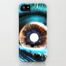 EYE AM  Sci iPhone Case