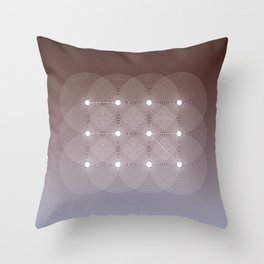 Geometrical Distortion III Throw Pillow
