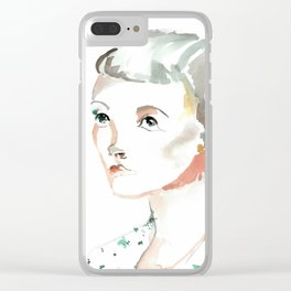 Amelly Clear iPhone Case