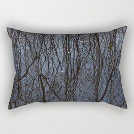 Flooded trees Rectangular Pillow