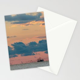 Shrimp Boat Following Stationery Cards
