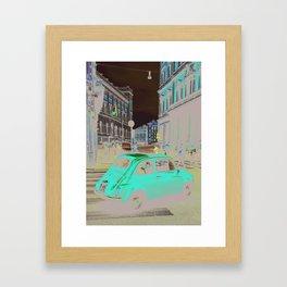 FIAT IN ROME Framed Art Print