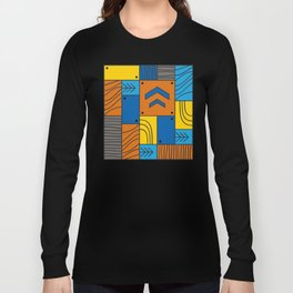 Pattern: abstract forest Long Sleeve T-shirt