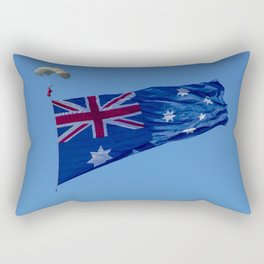 Avalon Airshow - Australian Flag 2 Rectangular Pillow