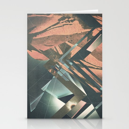 Mars Trails Stationery Cards