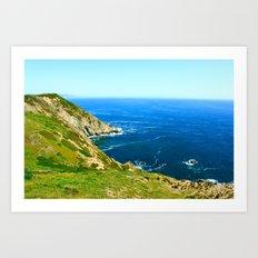 California Cove Art Print