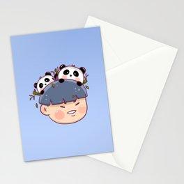 Panda Boy Stationery Cards