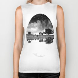 what is reflection? Biker Tank