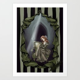 Tragically Ever After: Lily Potter Art Print