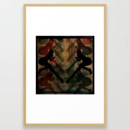 anna verta Framed Art Print