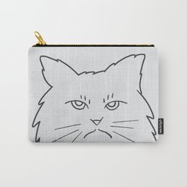 Angry Kitty Carry-All Pouch